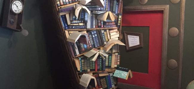 Magic Bookshelves from The Last Bookstore
