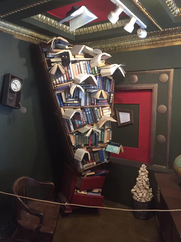 Magic Bookshelves from The Last Bookstore-The Net Book of Plots Archive